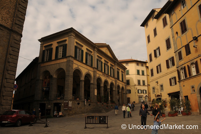 A Stroll Down the Streets of Cortona, Italy