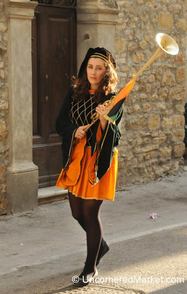 Festival Days in Cinigiano, Italy