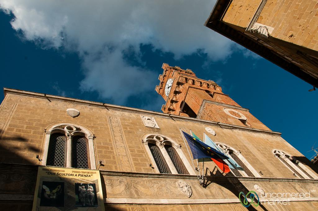 Palazzo Comunale in Pienza, Tuscany