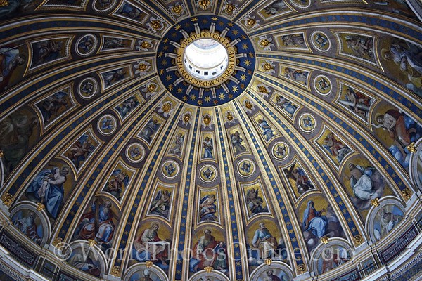 St Peter Basilica - Main Dome