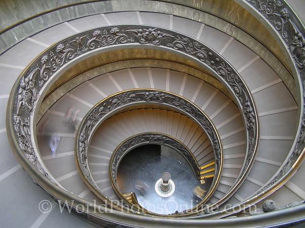Vatican - Michelangelo Stairs S