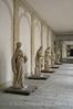 Veneto - Villa Pisani - Courtyard Statues