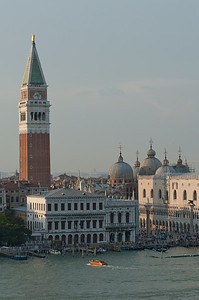 View of the Piazza San Marco near the Grand Canal - Venice, Italy