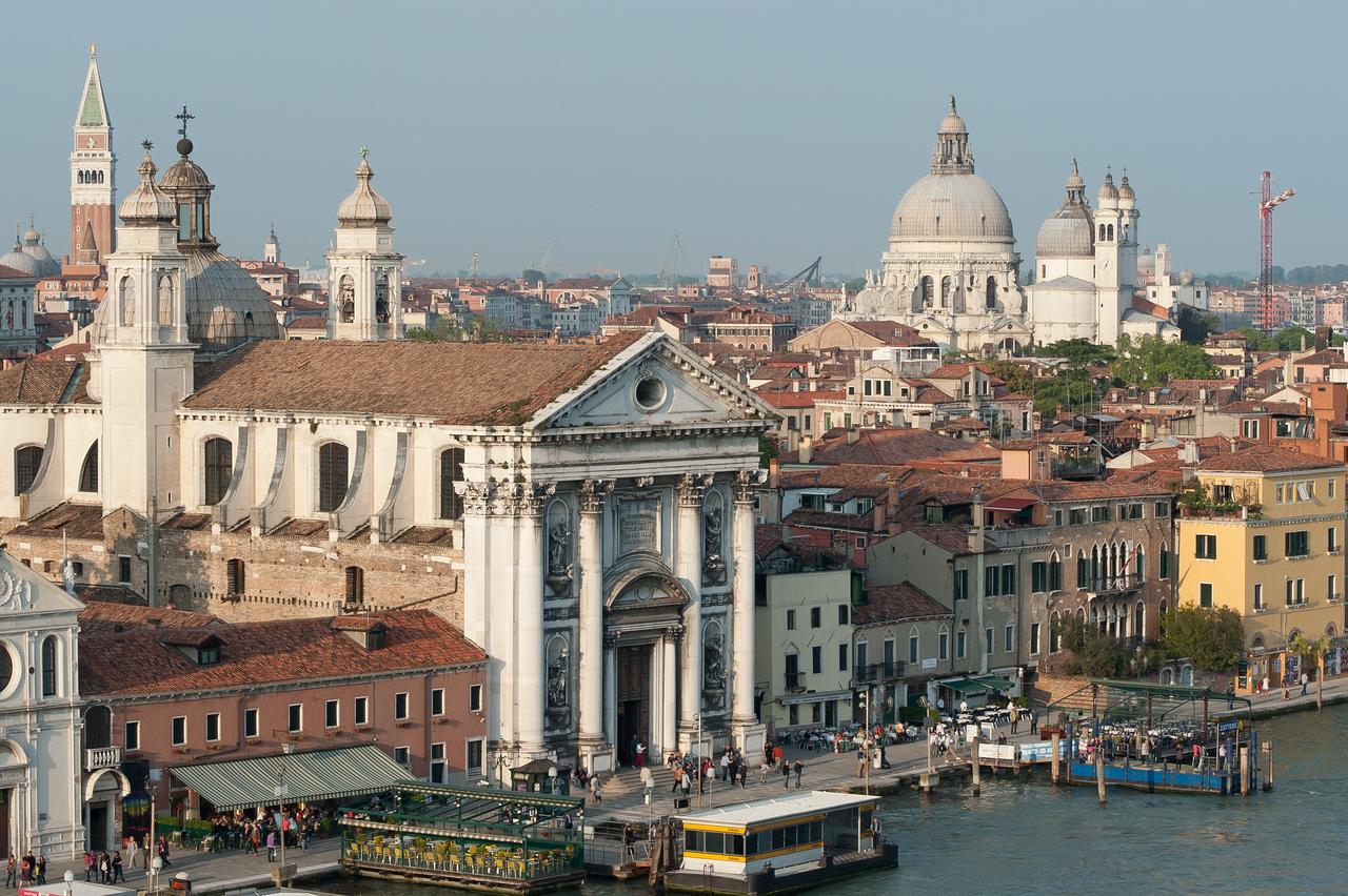 The Church of Igreja de Santa Maria do Rosario in Venice, Italy