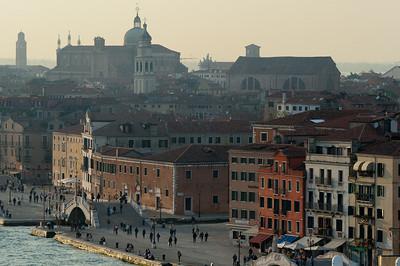 Small bridges over the Venetian Grand Canal - Venice, Italy