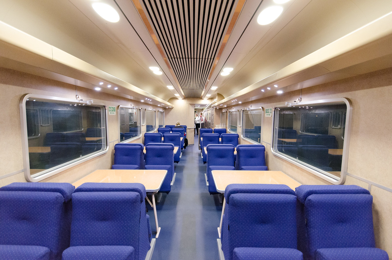 A few photos of the Thello sleeper train that I took from Venice to Paris.