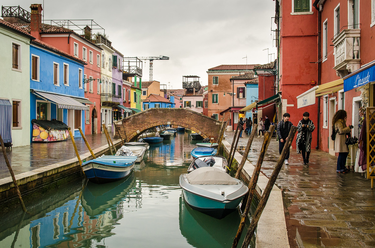 A quiet winter day on Burano.