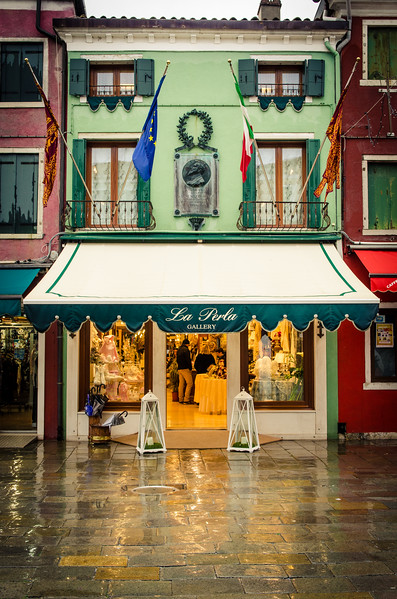 A shop on Burano.