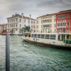 A Vaporetto (water bus) on The Grand Canal.