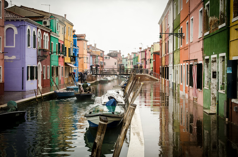 Burano, the lace island.
