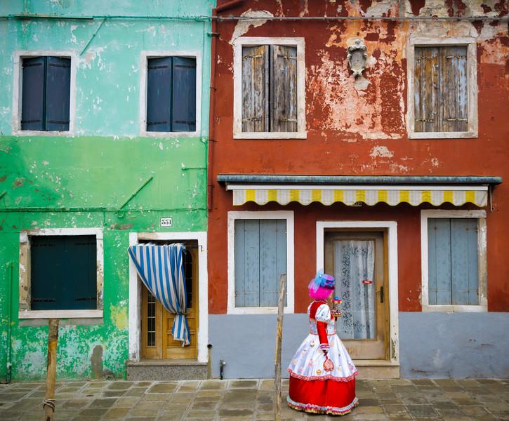 The magic of Burano at Carnival time!