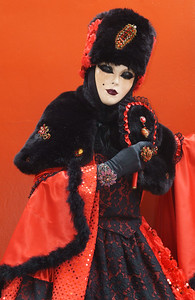 The Power of Red for this nice Russian Countess!