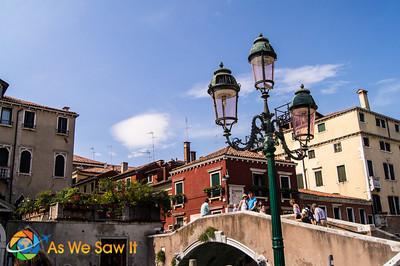 Bridge over canal in Venice