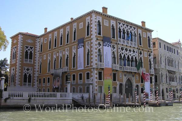 Venice - Palace Franchetti S