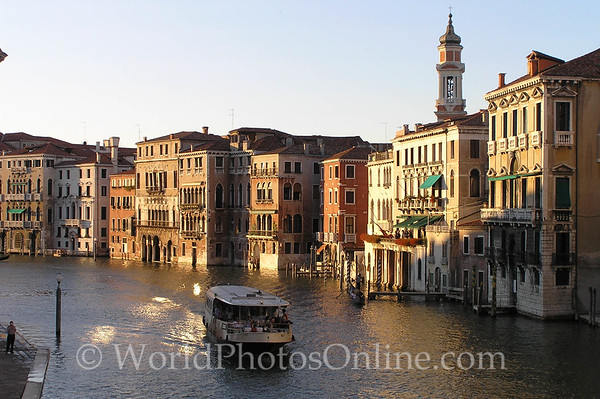 Venice - Grand Canal at Sunset S