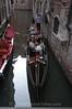 Venice - Gondula on side canal S