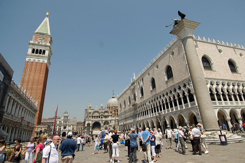 Piazza San Marco during day - Venice, Italy