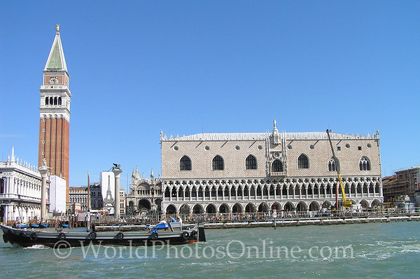 Venice - St Mark's Square and Doges Palace from Grand Canal S