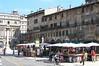 Verona - Piazza Erbe - Market S