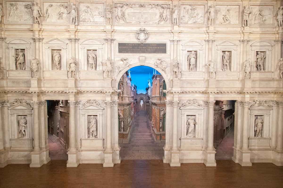 Teatro Olimpico in Vicenza, Italy