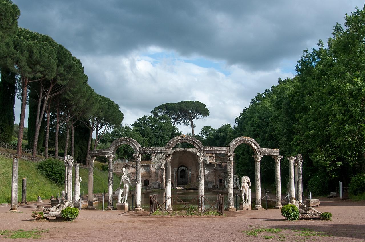 Villa Adriana's recreation of Canopus - Tivoli, Italy