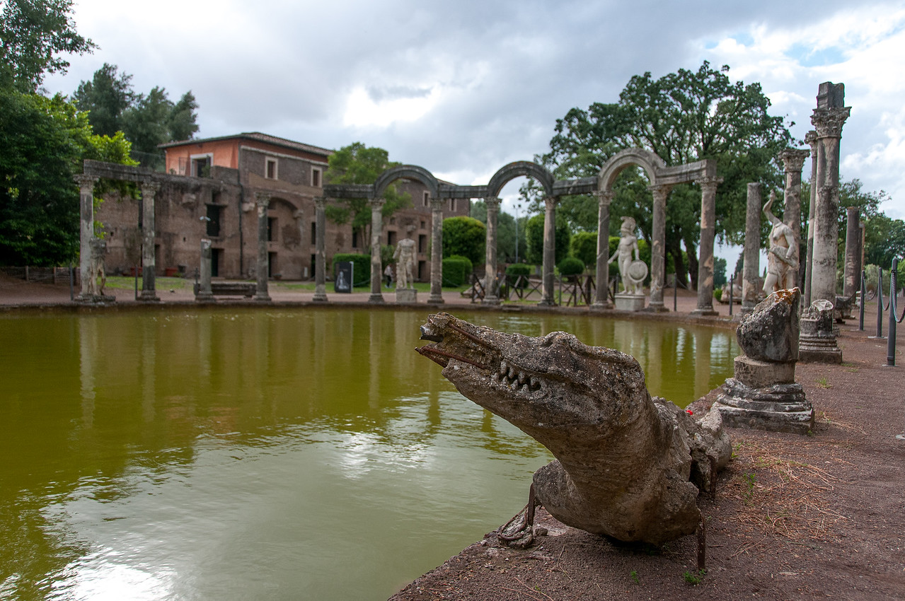 Villa Adriana's recreation of Canopus