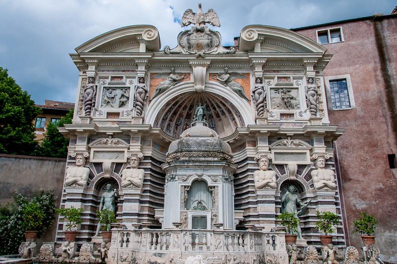 The Villa d'Este in Tivoli, Italy