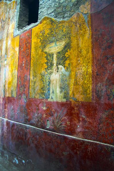 Italy, Villa Oplontis,  Fresco