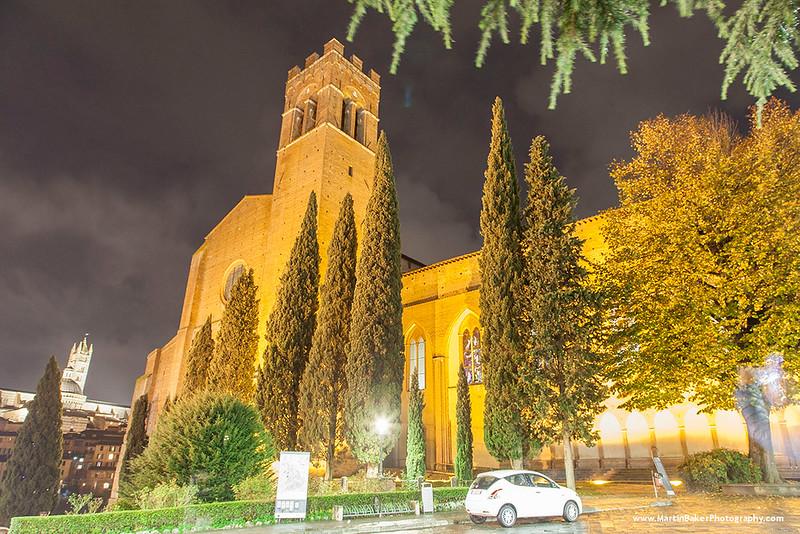 San Domenico, Siena, Tuscany, Italy.