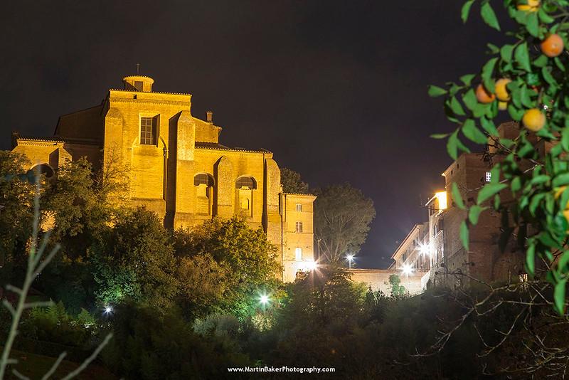 Sant'Agostino, Siena, Tuscany, Italy.