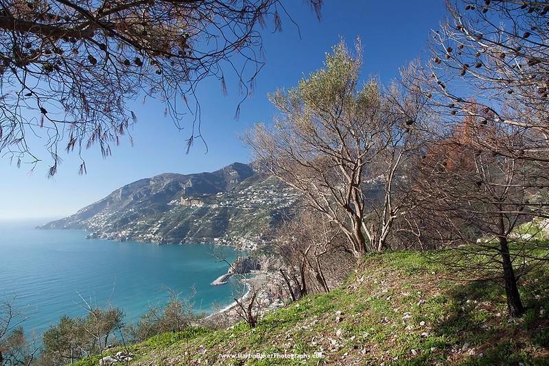 Amalfi coast, Maiori, Campania, Italy.