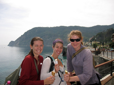 Ice Cream Stop in Vernazza!