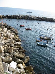 Riomaggiore Harbor, Cinque Terrre, Italy