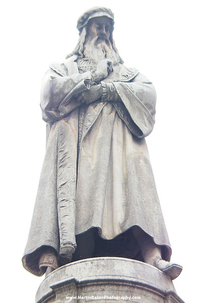 Leonardo da Vinci, Milan, Lombardy, Italy.
