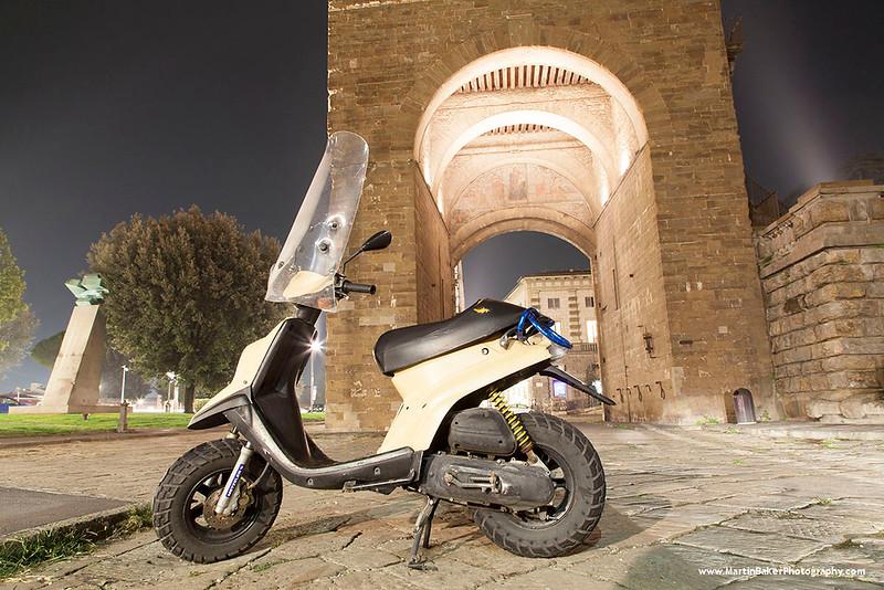Porta San Niccolo, Florence, Tuscany, Italy.