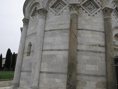 Cement Support Columns