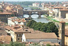 Ponte Vecchio and River Arno, Florence, Tuscany, Italy.