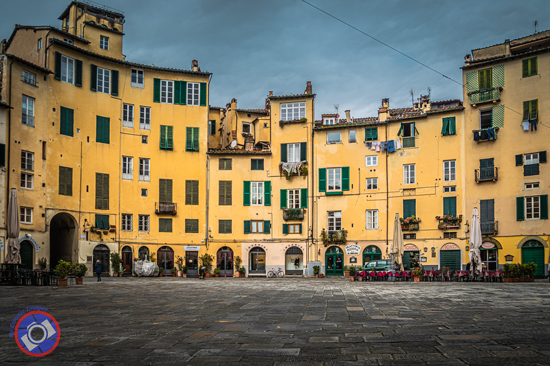 Part of the Piazza Anfiteatro, Originally the Site of the Roman Amphitheater (©simon@myeclecticimages.com)