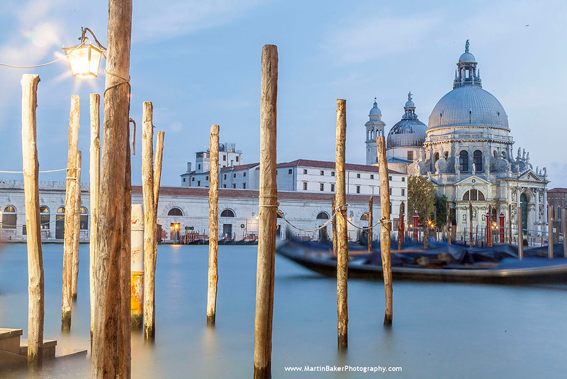 Church of Santa Maria della Salute and Canal Grande, Venice, Italy.