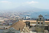 Mount Vesuvius (view from Castel Sant'Elmo), Naples, Campania, Italy.