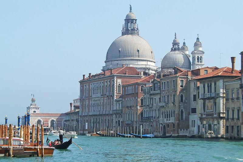 Santa Maria della Salute, Venice, Italy.