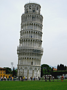 I fixed the tower....it looks almost straight right...!?
