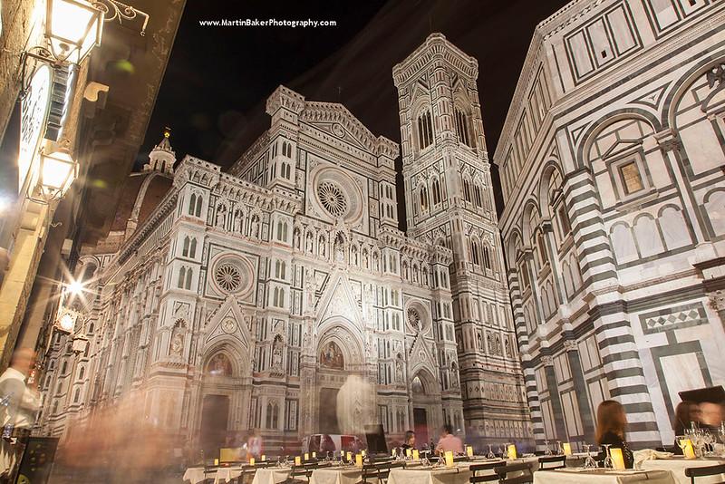 The Baptistery, Campanile and Santa Maria del Fiore, Florence, Tuscany, Italy.