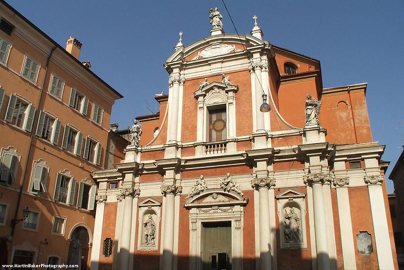 Chiesa di San Giorgio, Modena, Emilia-Romagna, Italy.