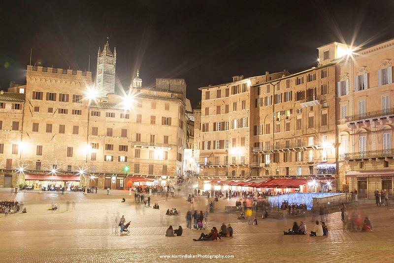 Il Campo, Siena, Tuscany, Italy.