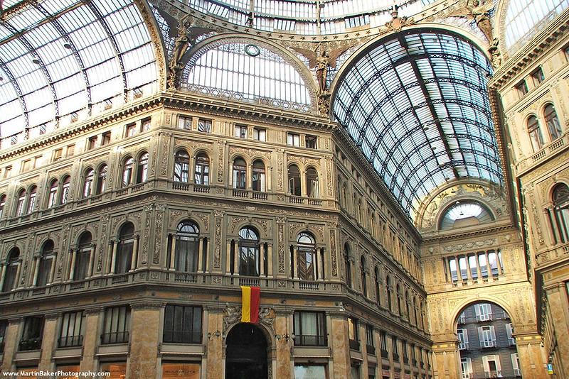 Galleria Umberto I, Naples, Campania, Italy.