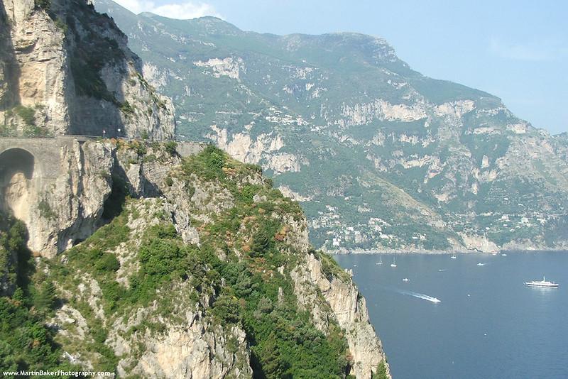 The Amalfi Coast, Campania, Italy.