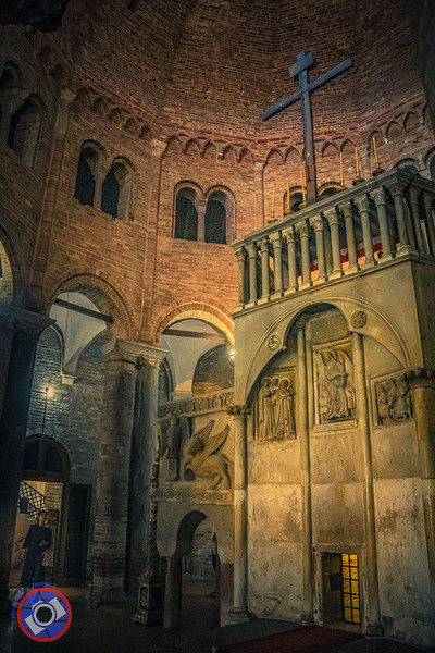 The Interior of that Same Church Within the Basilica of Santo Stefano (©simon@myeclecticimages.com)