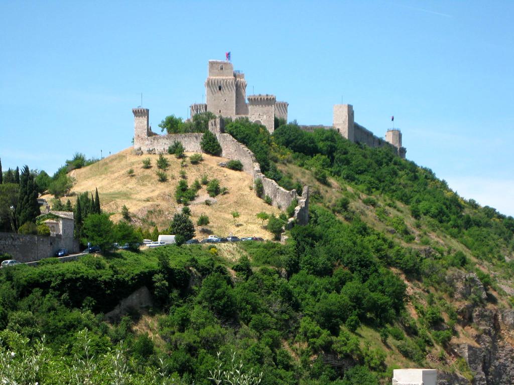 assisi Rocca Maggiore fortress