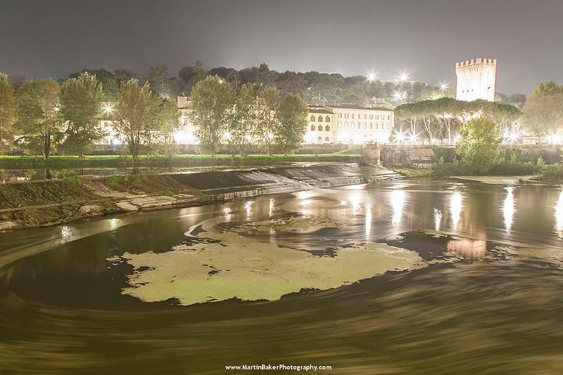 River Arno, Florence, Tuscany, Italy.